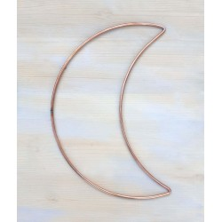 16inch 40cm Half Crescent Moon Wall Hanging Craft Hoops 5pk