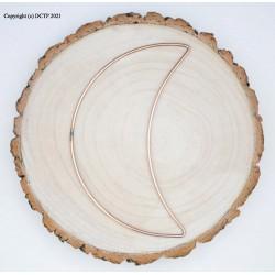 "11"" 27.9cm  Half Crescent Moon Craft Rings Hobbycraft 10pk"