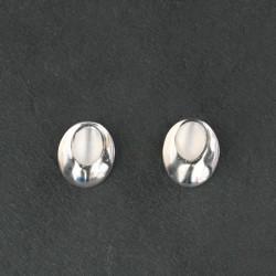 Moonstone & Silver Earrings