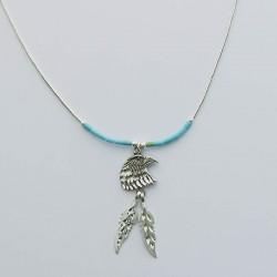 Eagle Silver Silver Necklace