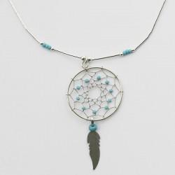 Dreamcatcher Beaded Necklace