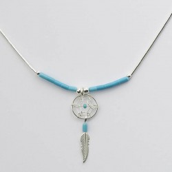 Small Dreamcatcher Bead Necklace