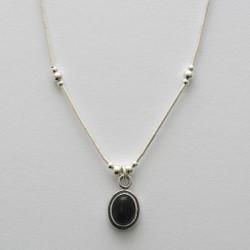 Amethyst & Silver Necklace