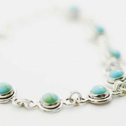 Turquoise Link Bracelet